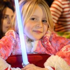 Una Jedi en las procesiones de Lorca