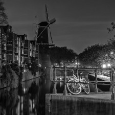 Molino de Schiedam por Emilio
