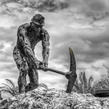 Monumento al minero por Emilio