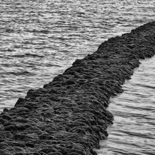 Playa de los Corrales (Rota). Detalles de los muros.