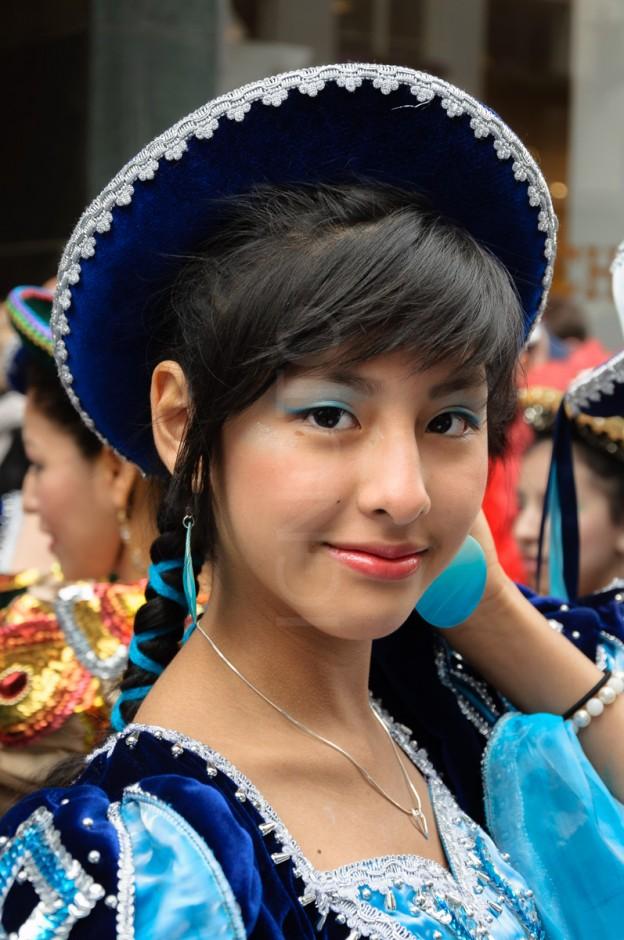 Latinos en carnaval de Copenhague X2