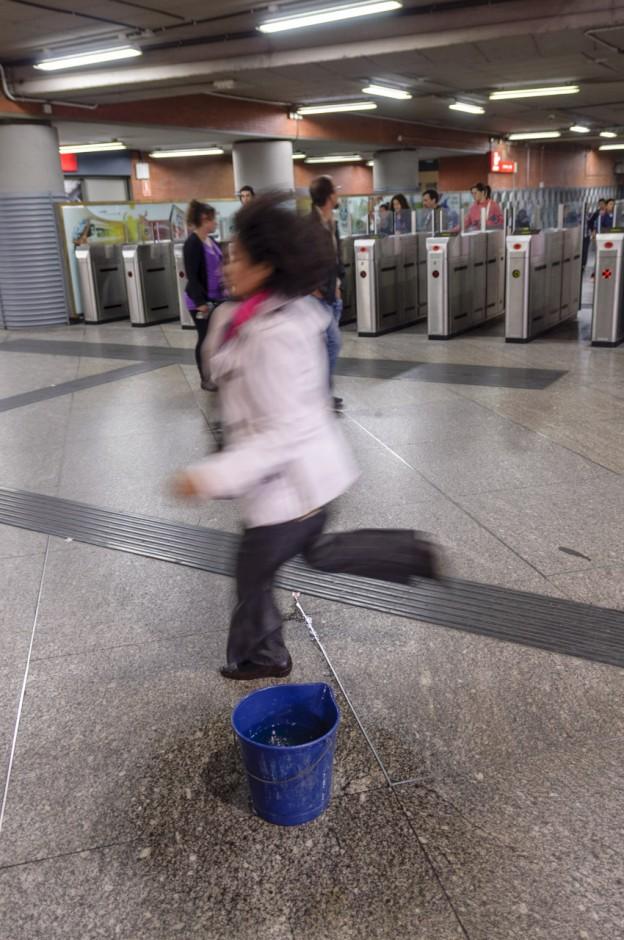 Prisas y goteras en Atocha