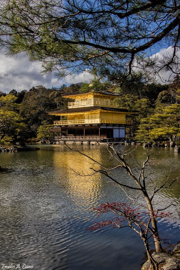 Templo de oro de Kioto