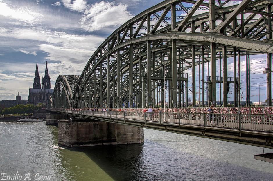 Puente Hohenzollern por Emilio