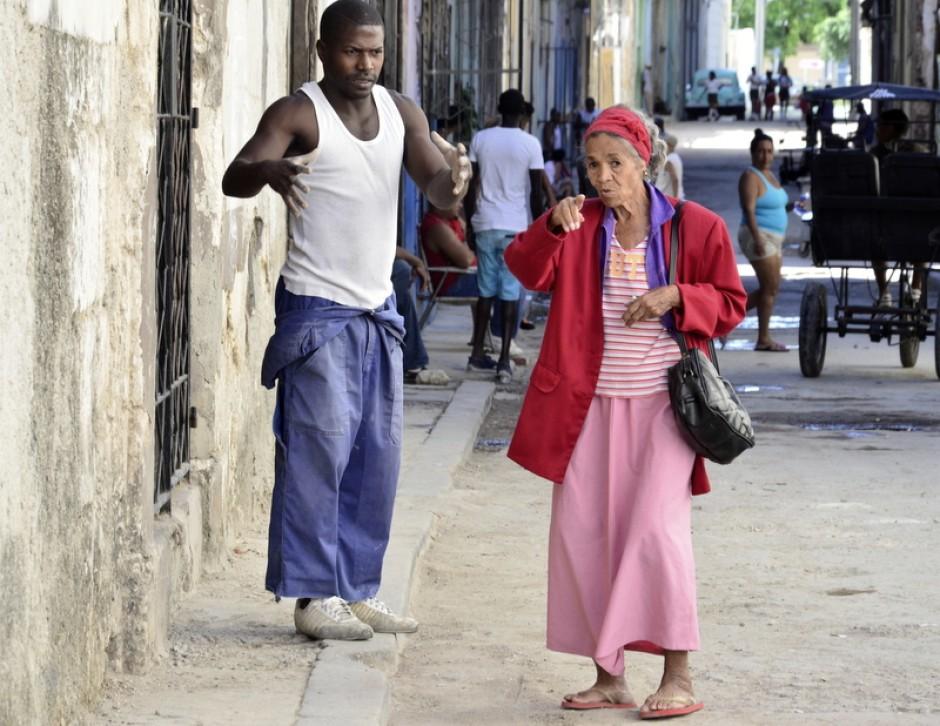 Cuba, sin complejos ,disfrutando de sus gentes