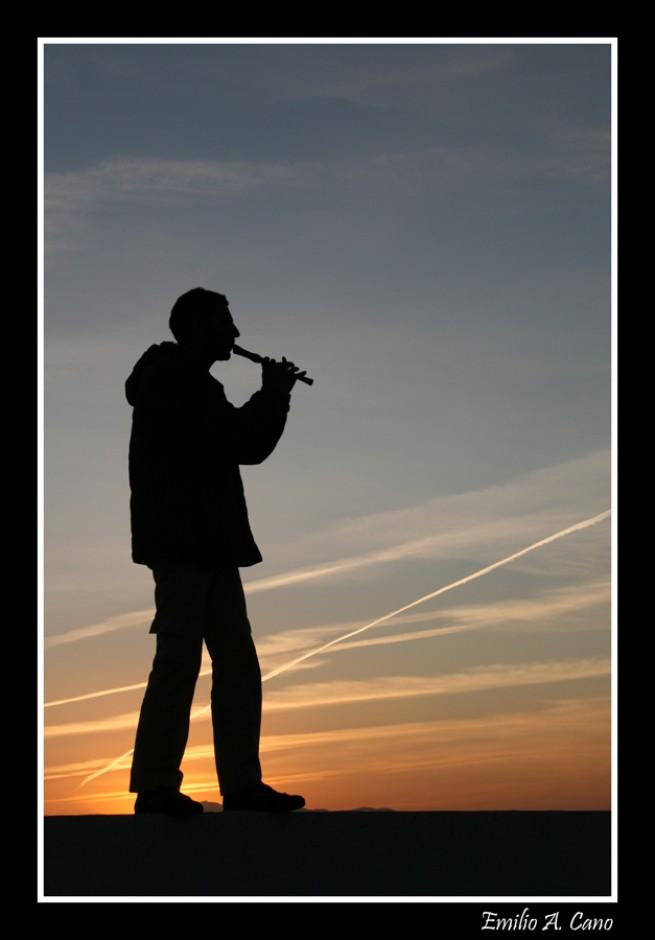 El flautista por Emilio